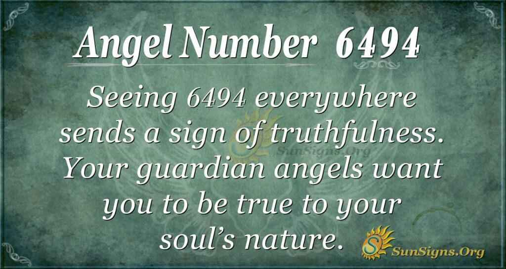 6494 angel number