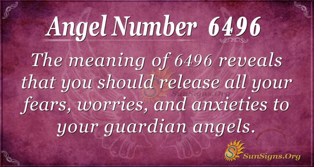 Angel Number 6496