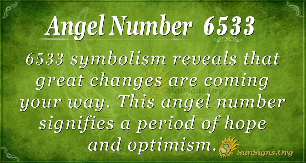 Angel number 6533