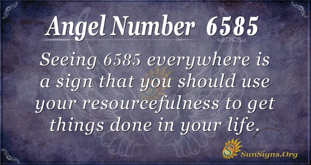 6585 angel number