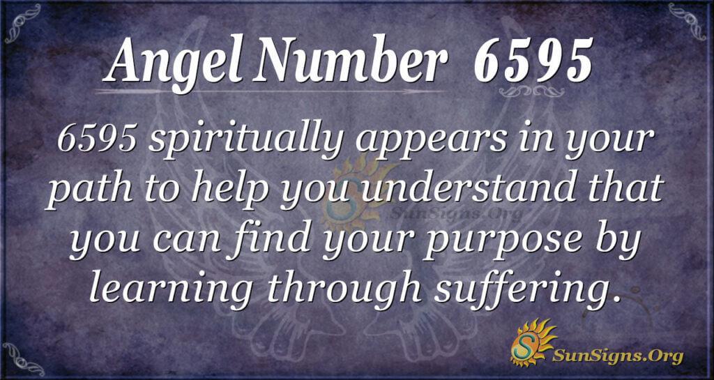 Angel Number 6595