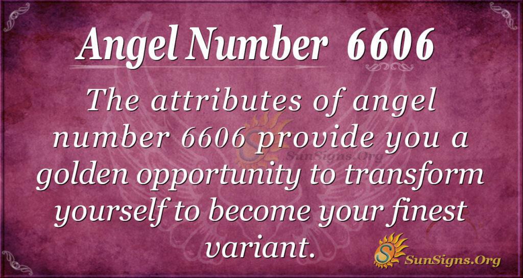6606 angel number