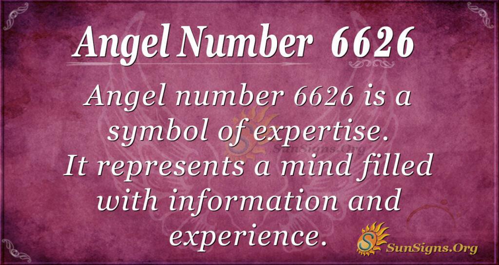 6626 angel number