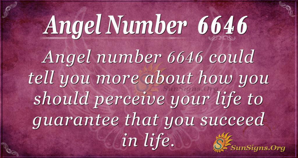 6646 angel number