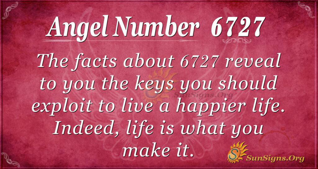 6727 angel number