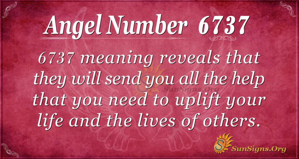 6737 angel number