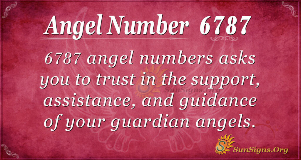 Angel number 6787