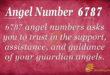 Angel number 6787
