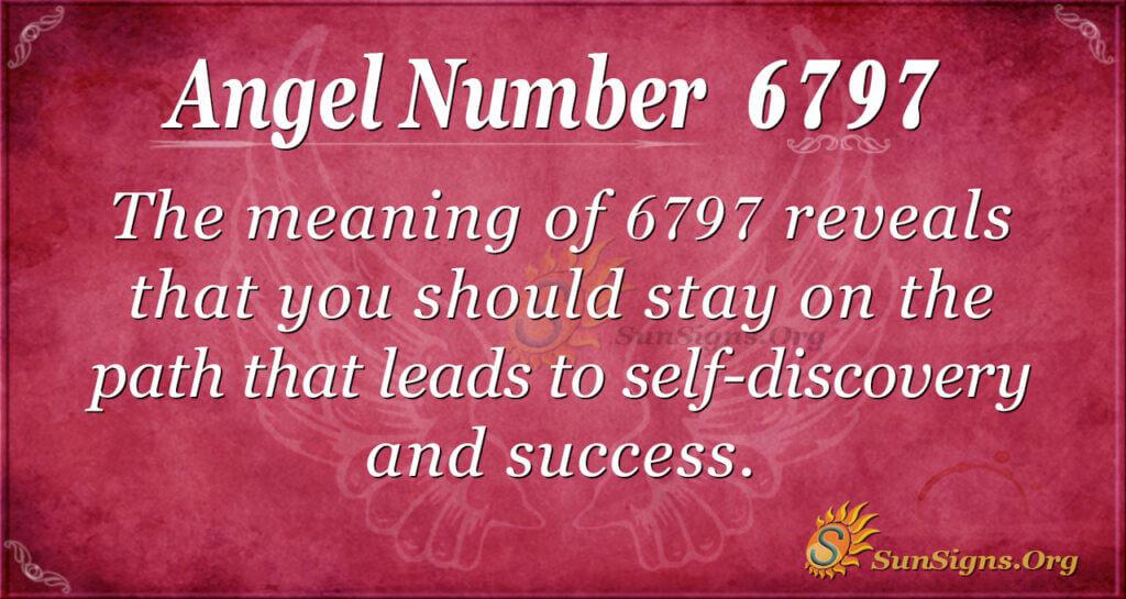 Angel Number 6797