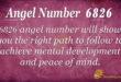 Angel number 6826