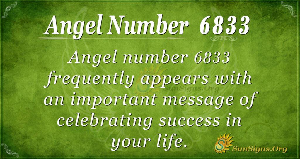 6833 angel number