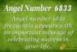 6833 angel number