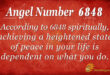 6848 angel number