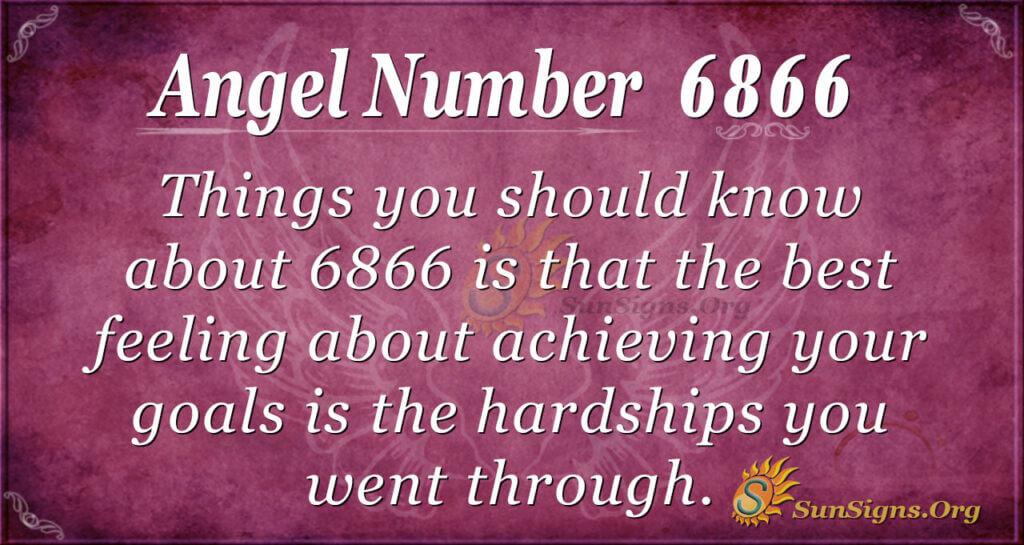 6866 angel number