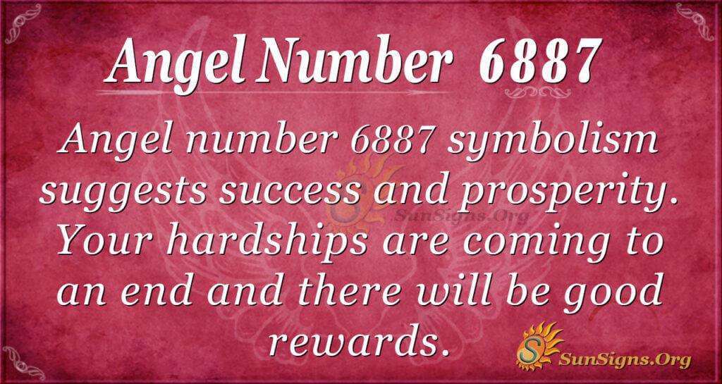 Angel number 6887