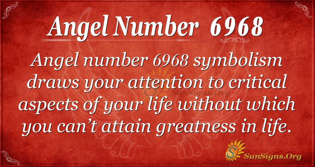 6968 angel number