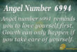 Angel number 6994