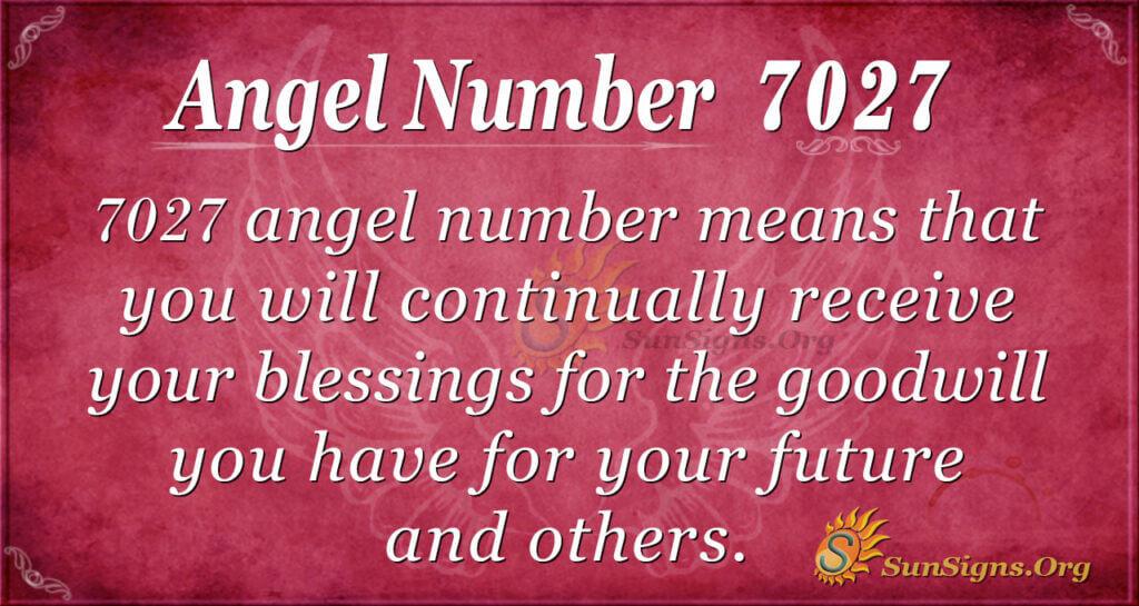 7027 angel number