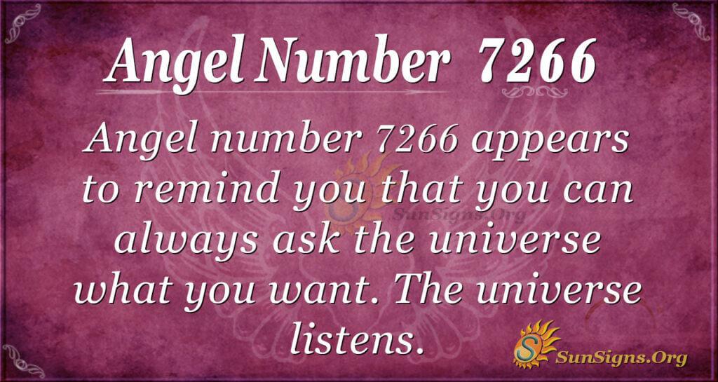 7266 angel number