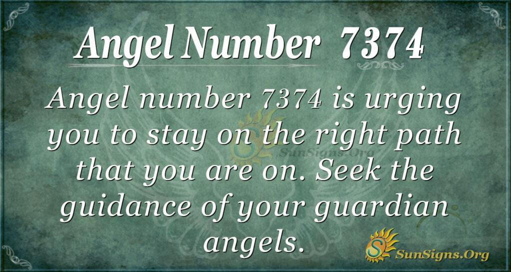 7374 angel number