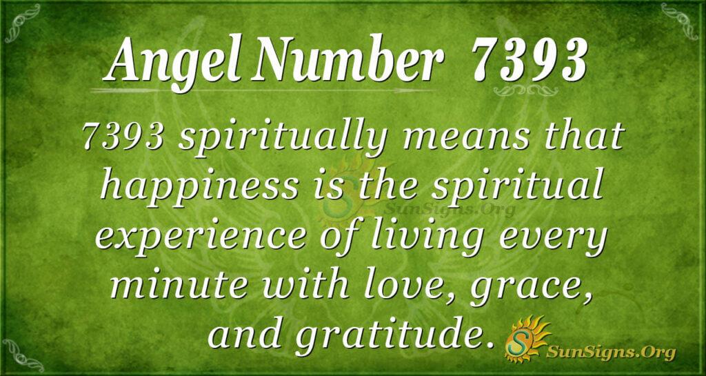 7393 angel number