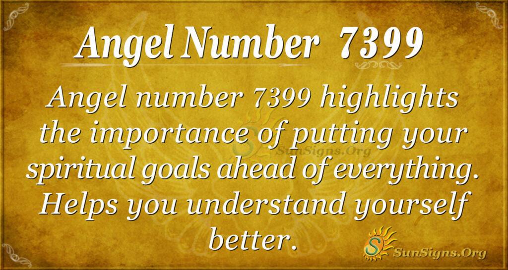 7399 angel number