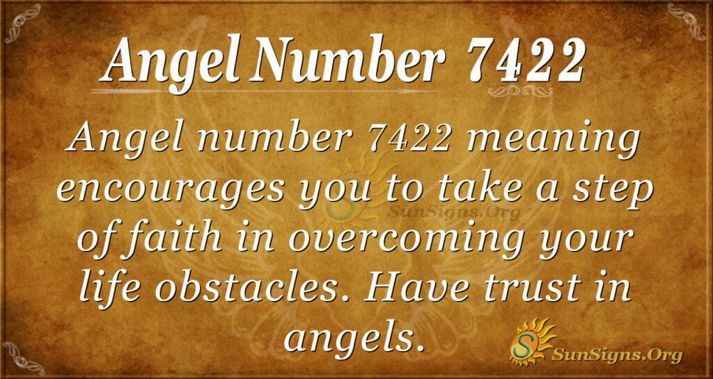 7422 angel number