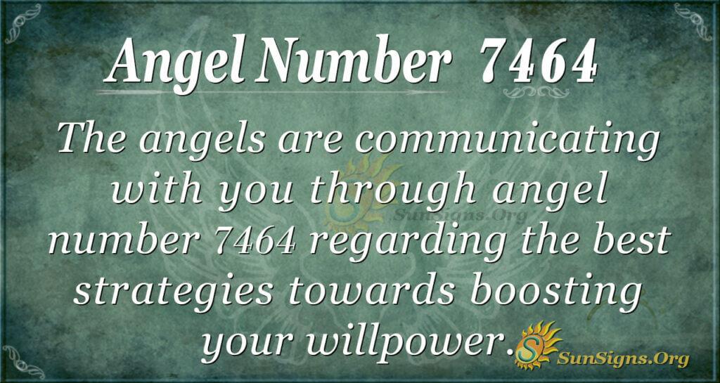 7464 angel number