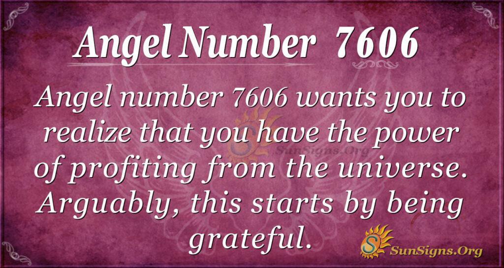 7606 angel number