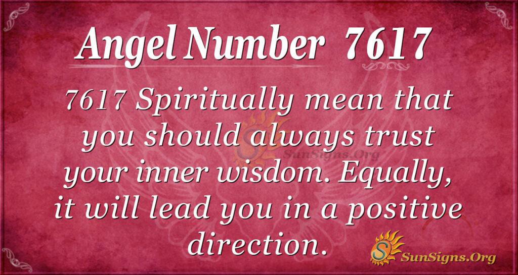 7617 angel number