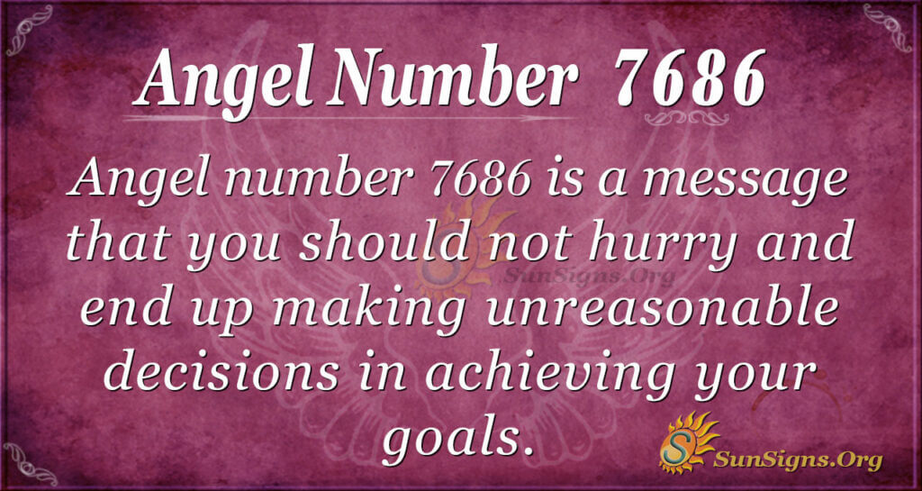 7686 angel number