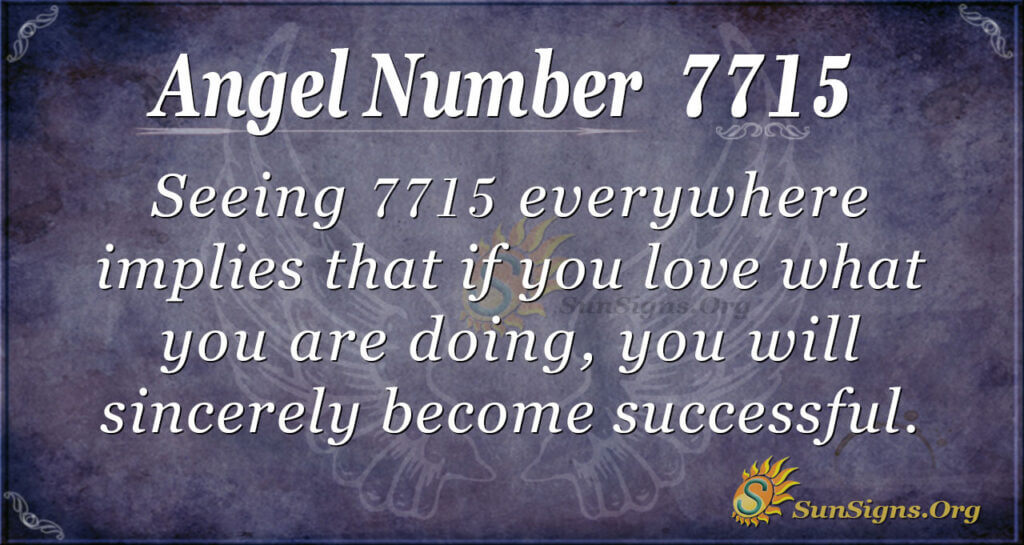 7715 angel number