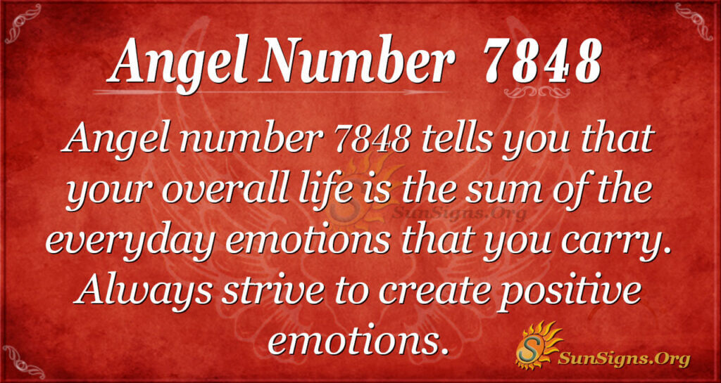 7848 angel number