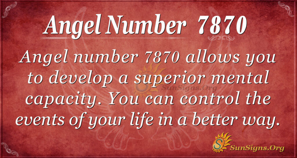 7870 angel number