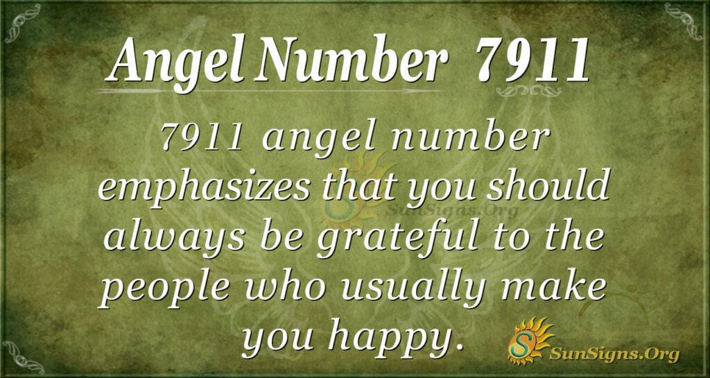 7911 angel number