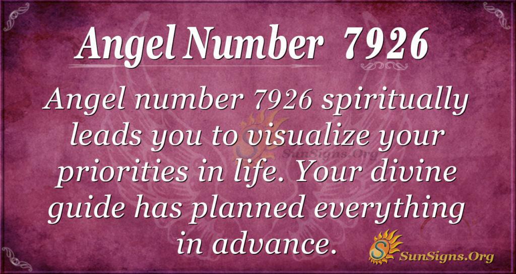 7926 angel number