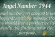 Angel number 7944