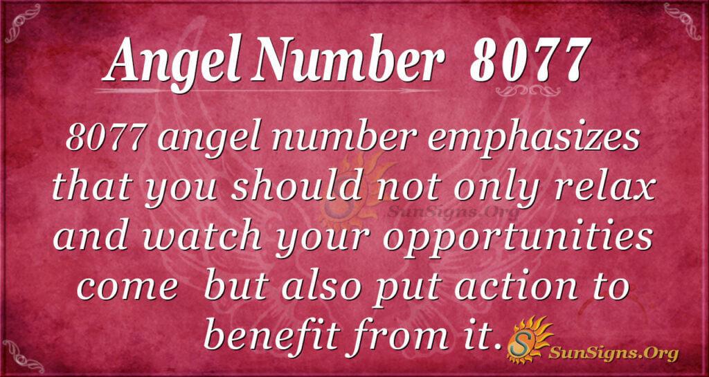8077 angel number
