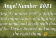 8081 angel number