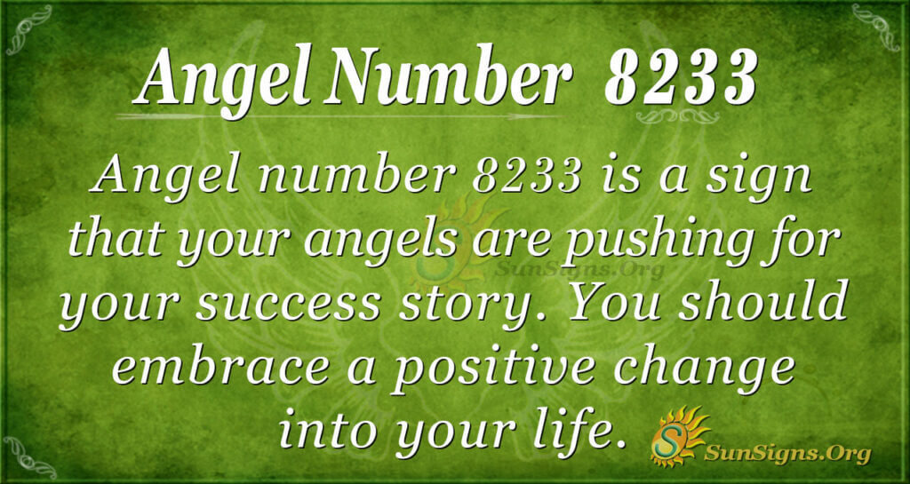 8233 angel number