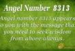 Angel Number 8313