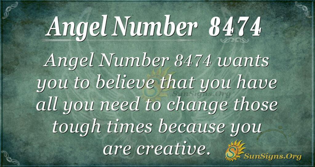 8474 angel number