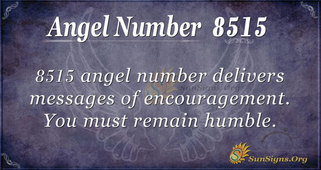 Angel Number 8515