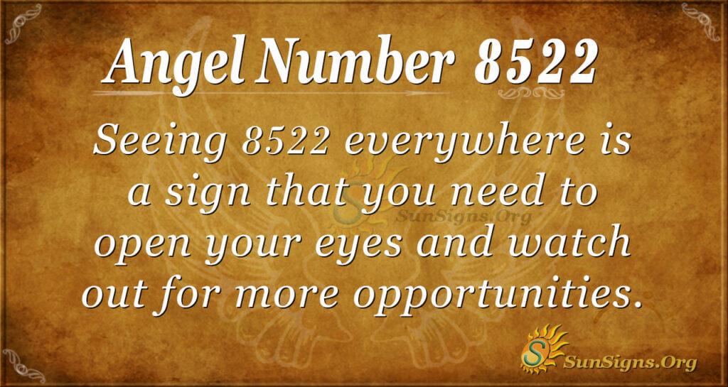 8522 angel number