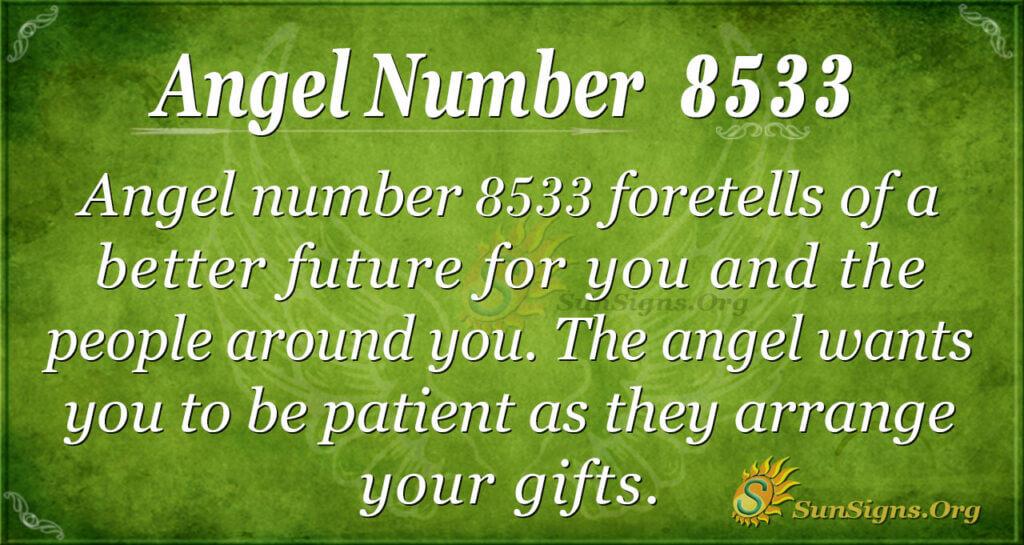 8533 angel number
