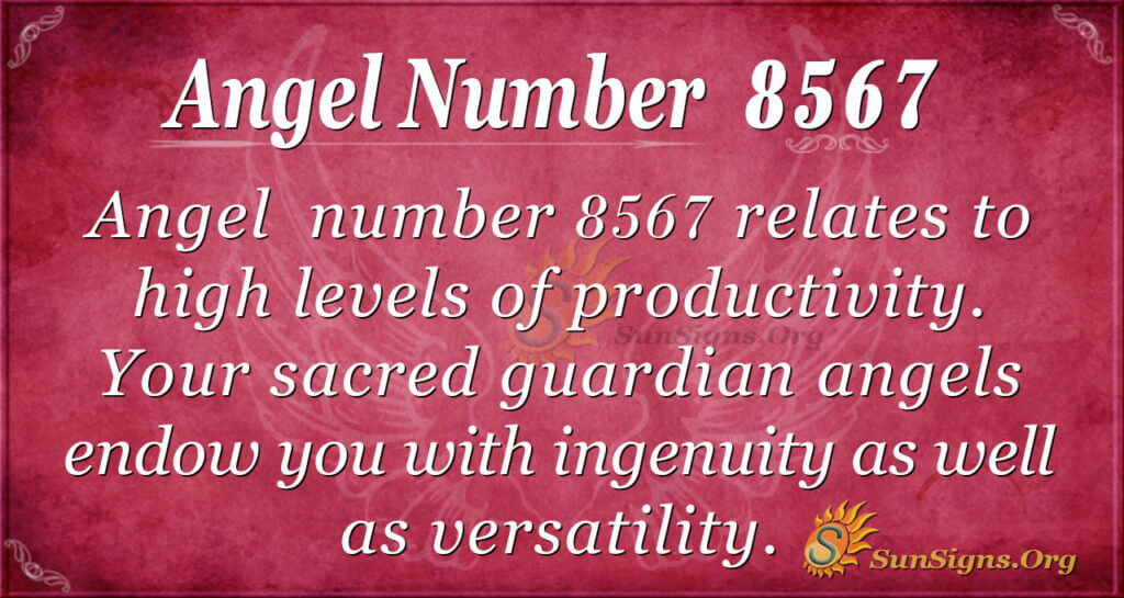 8567 angel number