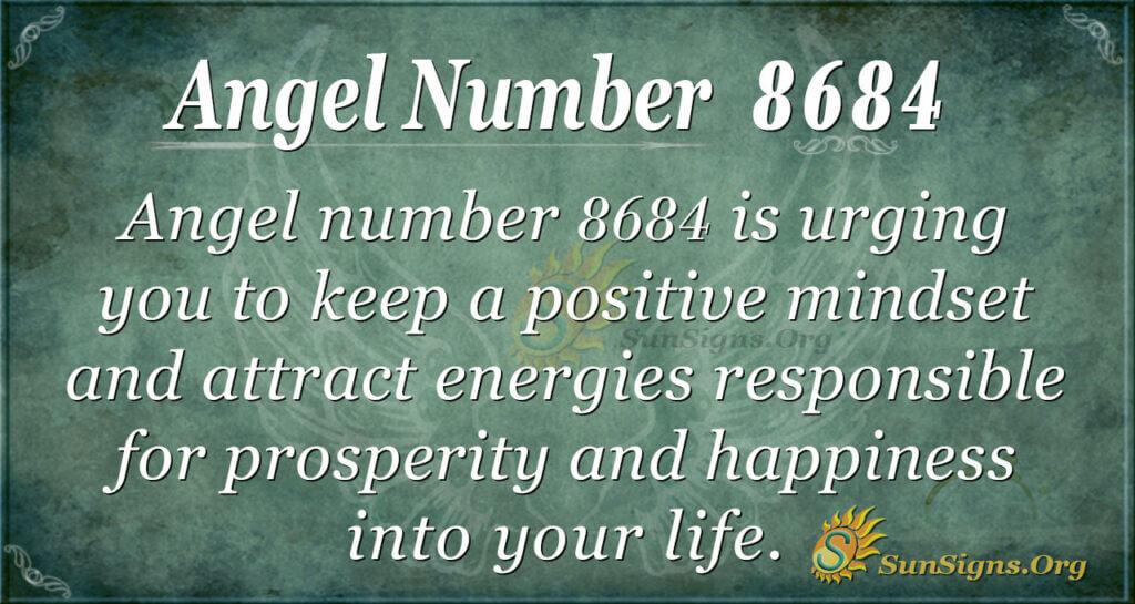 8684 angel number