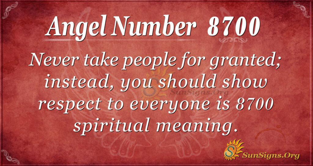 8700 angel number