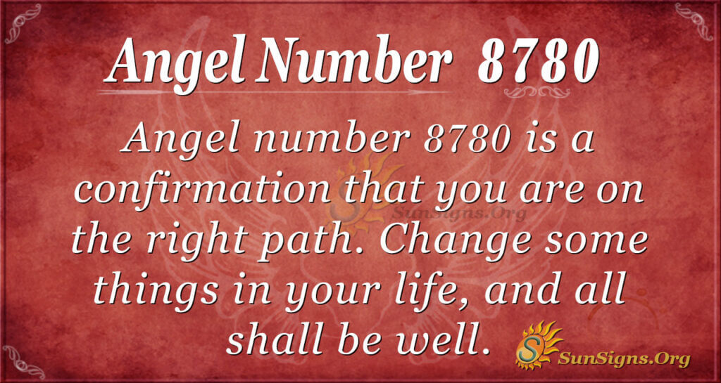 8780 angel number