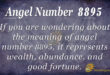 8895 angel number